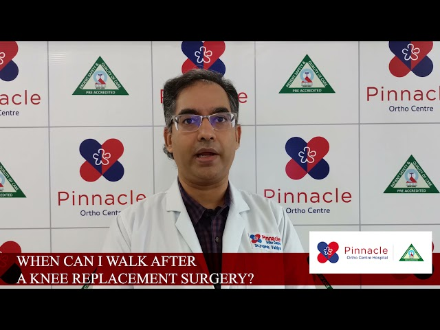 #pinnacleorthocentre When I Can walk after knee replacement surgery ?