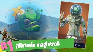 EPIC VICTORY with the NEW LEVIATON FORTNITE Battle Royale