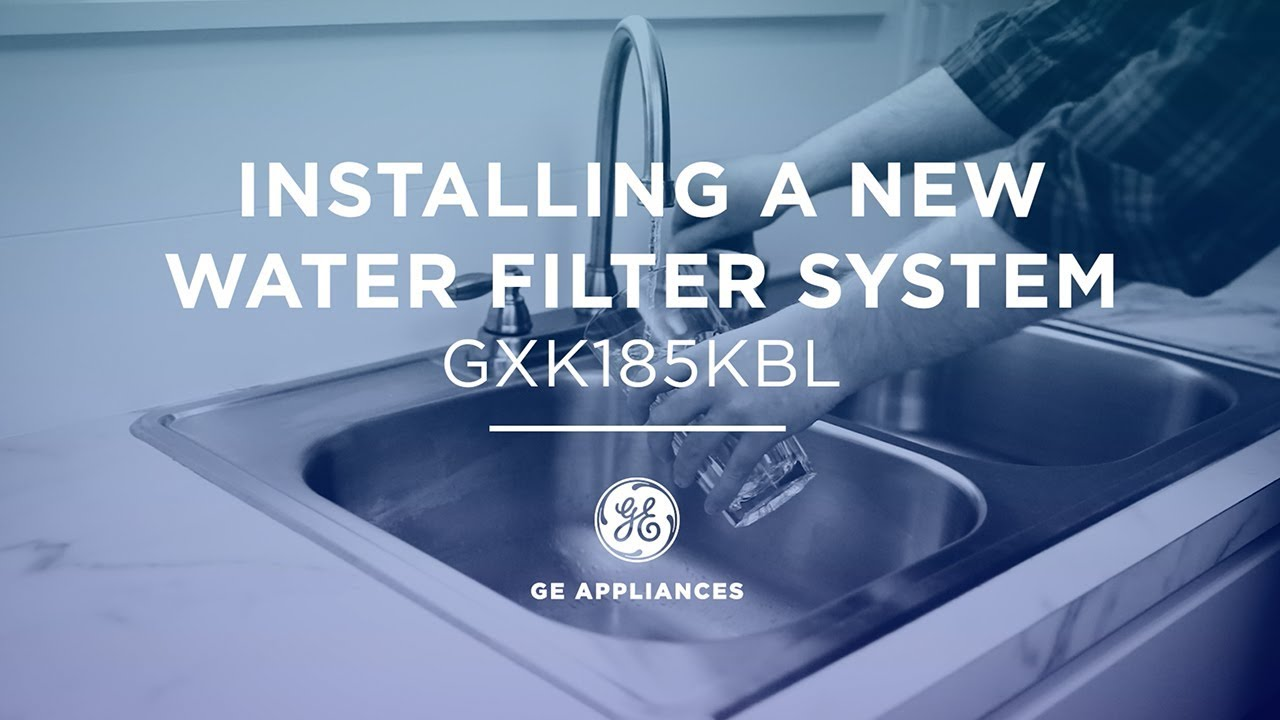 Installation of Single Stage Water Filtration System - YouTube