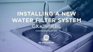 Installation of Single Stage Water Filtration System