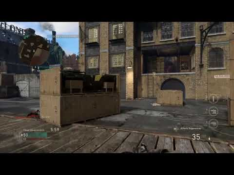 Call of Duty®: WWII TDM London Docks 20-8 shared 4G from my IPhone!!!