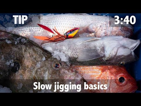 Slow Jigging Basics