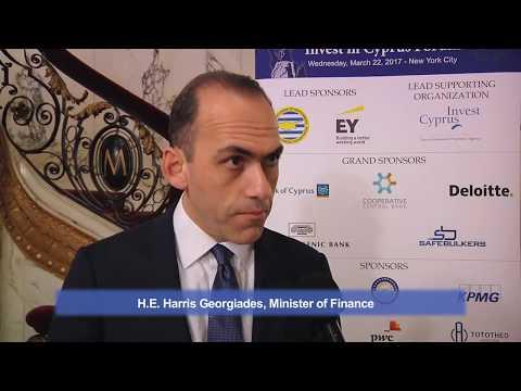 2017 Capital Link Invest in Cyprus Forum - Harris Georgiades Interview