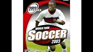 World Tour Soccer 2003 (PS2) The Making Of