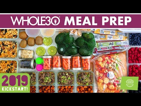 whole30-meal-prep-for-the-week-#kickstart2019