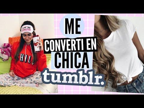 [VIDEO] - 24 HORAS siendo UNA CHICA TUMBLR 4