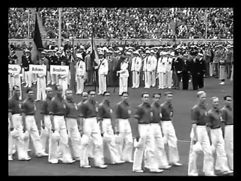 Olympic games Berlin 1936 Opening ceremony