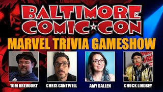 Marvel Trivia Gameshow at Baltimore Comic Con