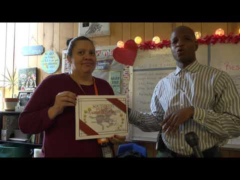 Wedgwood Middle School January 2020 Teacher of the Month
