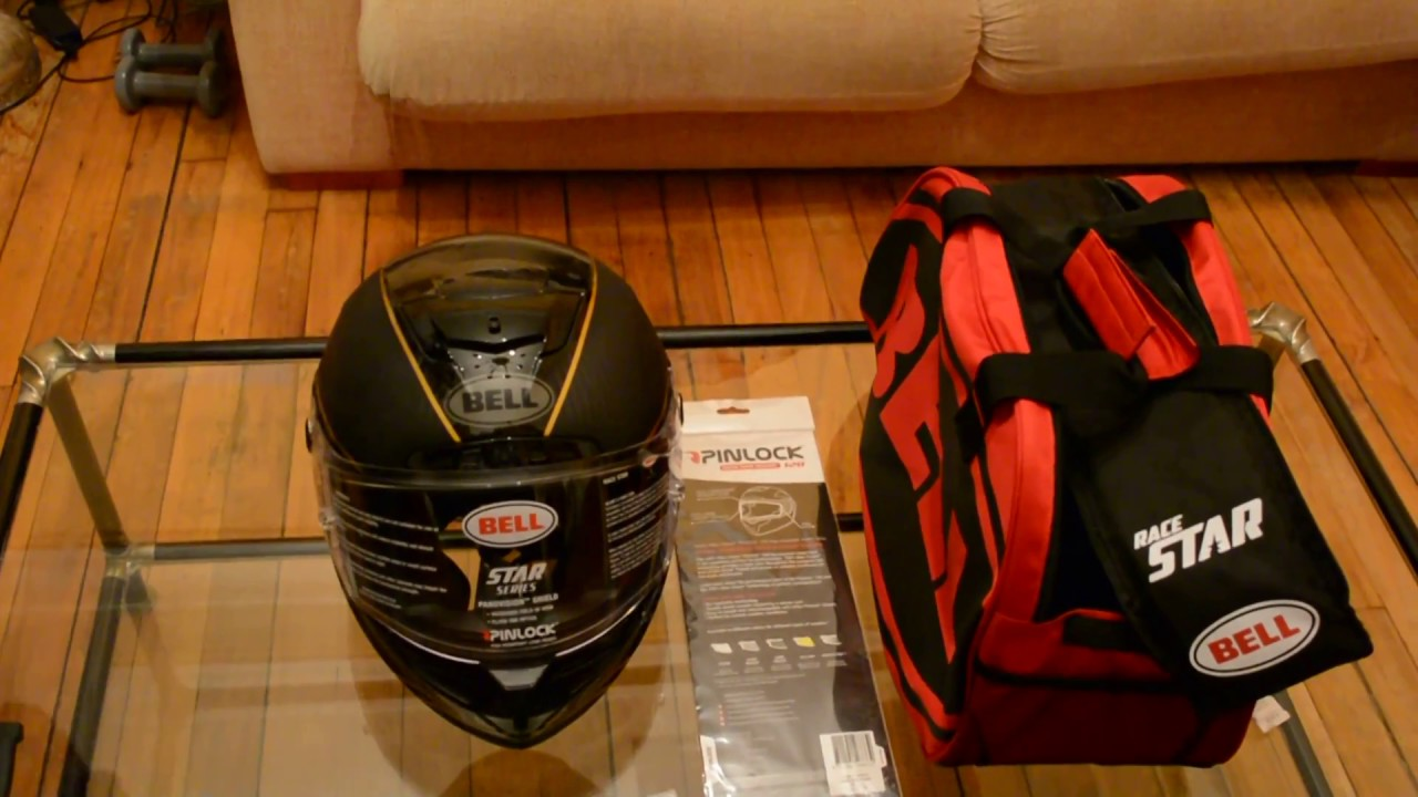Unboxing Bell Race Star Helmet Ace Cafe London Edition