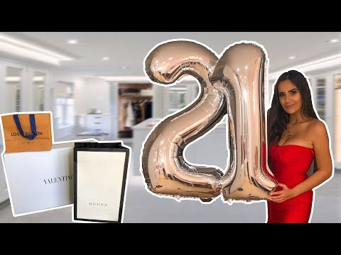 What I got for my 21st Birthday | Nicole Corrales