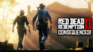 Red Dead Redemption 2 - UNIQUE RDR2 GAMEPLAY CONSEQUENCES! NPC Memory, Encounters & REWARDS! (RDR2)