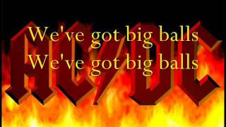 ACDC- Big Balls (lyrics)
