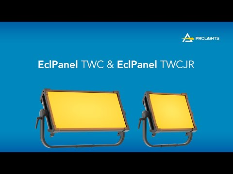 PROLIGHTS EclPanel TWC & EclPanel TWCJr product overview