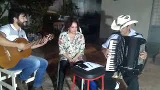 Wilsinho, Jean casturin e Sandra cantando a loira do carro branco