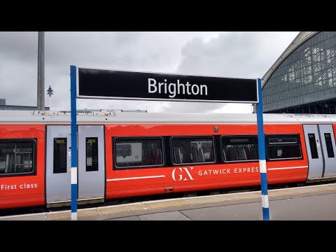 Full Journey on Gatwick Express (Class 387) from Brighton to London Victoria
