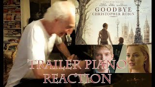 Goodbye Christopher Robin   Official PIANO REACTION Trailer HD   2017, Elastic Piano