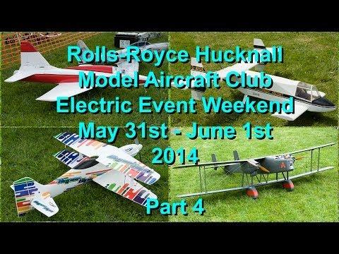 RR Hucknall Model Aircraft Club Electric Event 2014  - Part 4