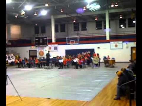 Robert L Bland Middle School Band 2011 #1