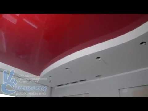 Комбинированный потолок: натяжной и гипсокартон (Кривой Рог)