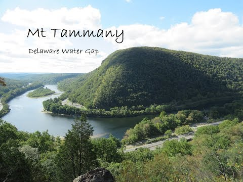 Hiking Mt Tammany, Delaware Water Gap, NJ