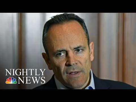 Former Kentucky Governor Under Fire For Controversial Pardons  NBC Nightly News