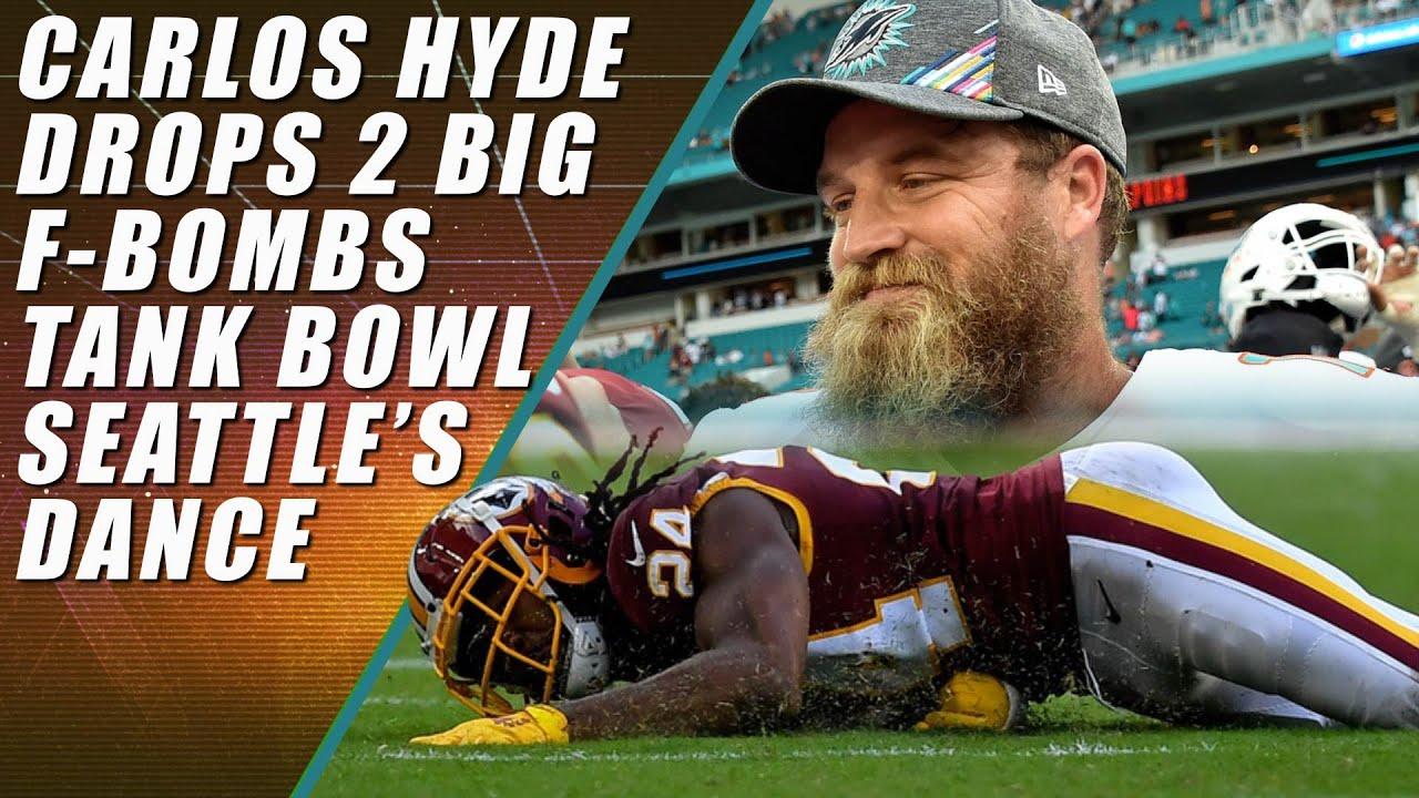 Seahawks Bye Bye Bye Browns Dolphins Win Tank Bowl