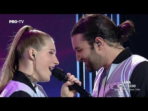 Ana Munteanu & Smiley - De Unde Vii La Ora Asta? | Finala | Vocea Romaniei 2017
