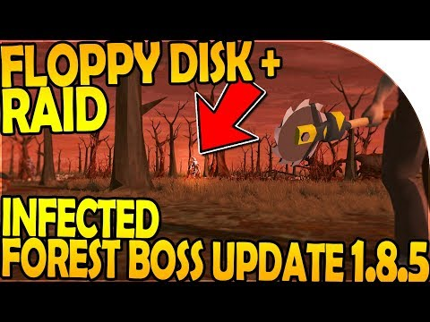 INFECTED FOREST BOSS UPDATE in 1.8.5 (FLOPPY DISK + RAID) - Last Day On Earth Survival Update 1.8.3