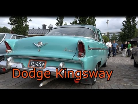 Dodge Kingsway Custom V8 car