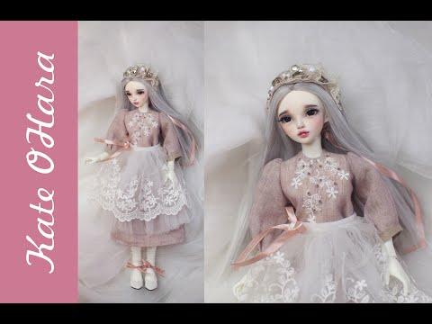 Русская красавица из китайской куклы. Шьём одежду для BJD MiniFee Chloe рекаст.