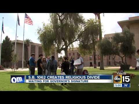 Arizona legislature passes controversial anti-gay bill