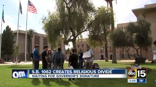 Arizona legislature passes controversial anti-gay bill