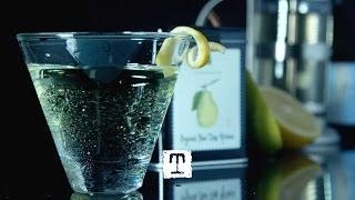 Tea Cocktail: Purefect Pear Sake Cocktail Ft. Organic Pear Tree Green #tealeavesmixology | Tealeaves