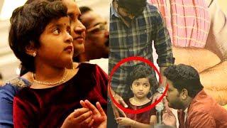 மேடையில் அழுத சிவகார்த்திகேயன் மகள் | Aradhana Sivakarthikeyan Cute Speech | Kanaa Success Meet