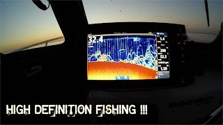 WHAT FISH LOOK LIKE ON SONAR using the SIMRAD NSS9 EVO2