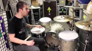 Cyrus Bolooki of New Found Glory Drumhead Selection & Demo