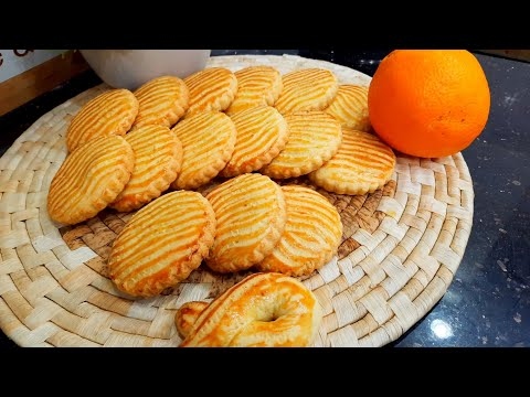 مطبخ ام وليد عندك حبة برتقال حضري هاذ الحلوة الجافة الرائعة بحبة بيض فقط .
