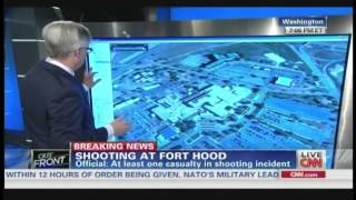 Active shooter reported at Fort Hood Texas (April 2, 2014, 6:00 PM CT)