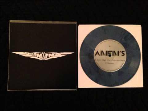 "AM/FM'S - Damn Right (It's a Saturday Night) 7"" Vinyl EP Radio Guru Records 2014"