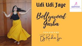 Rashmi Iyer Choreography | HappyFeet|  Bollywood Garba | Udi Udi Jaye (Raees)