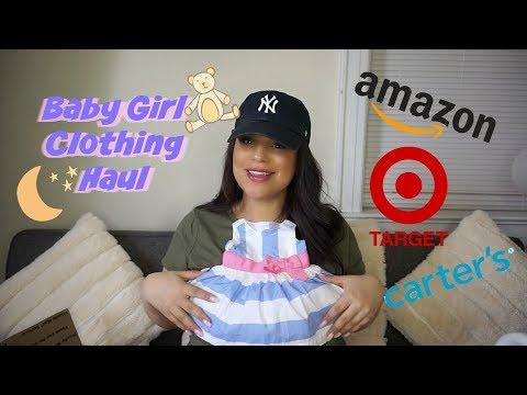 Baby Girl Clothing Haul
