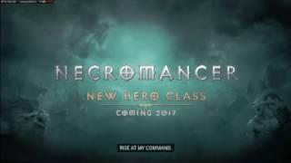 Nigromante diablo 3  nuevo personaje (Blizzcon2016)