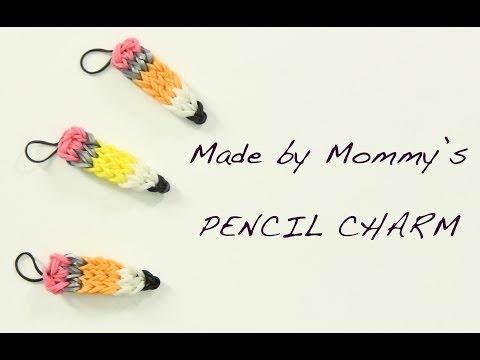 Pencil Charm on the Rainbow Loom