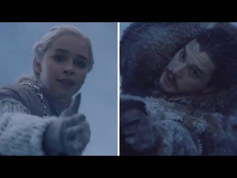 Game of Thrones Season 7 Episode 6 Leaked Breakdown Daenerys Saves John Snow scene