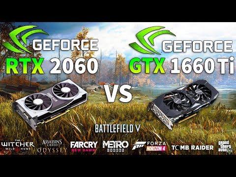 GTX 1660 Ti Vs RTX 2060 Test In 8 Games