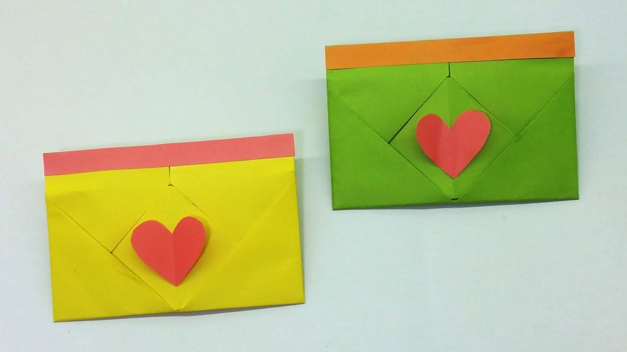Easy Envelopes for Handmade Cards • TeachKidsArt | 720x1280