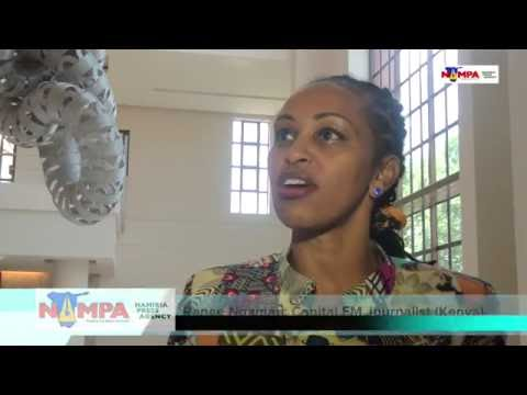 NAMPA: JOHANNESBURG African journalists call for women's empowerment in newsroom 15 Oct 2016 HD