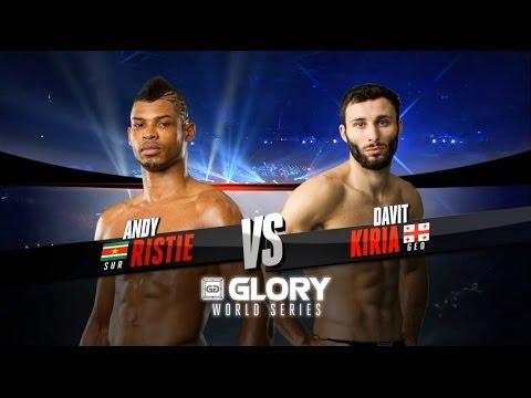 GLORY 14 Zagreb - Lightweight Title Fight, Davit Kiria vs. Andy Ristie (Full Video)