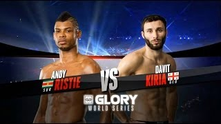 GLORY 14 Zagreb - Lightweight Title Fight, Davit Kiria vs. Andy Ristie (Full Video)